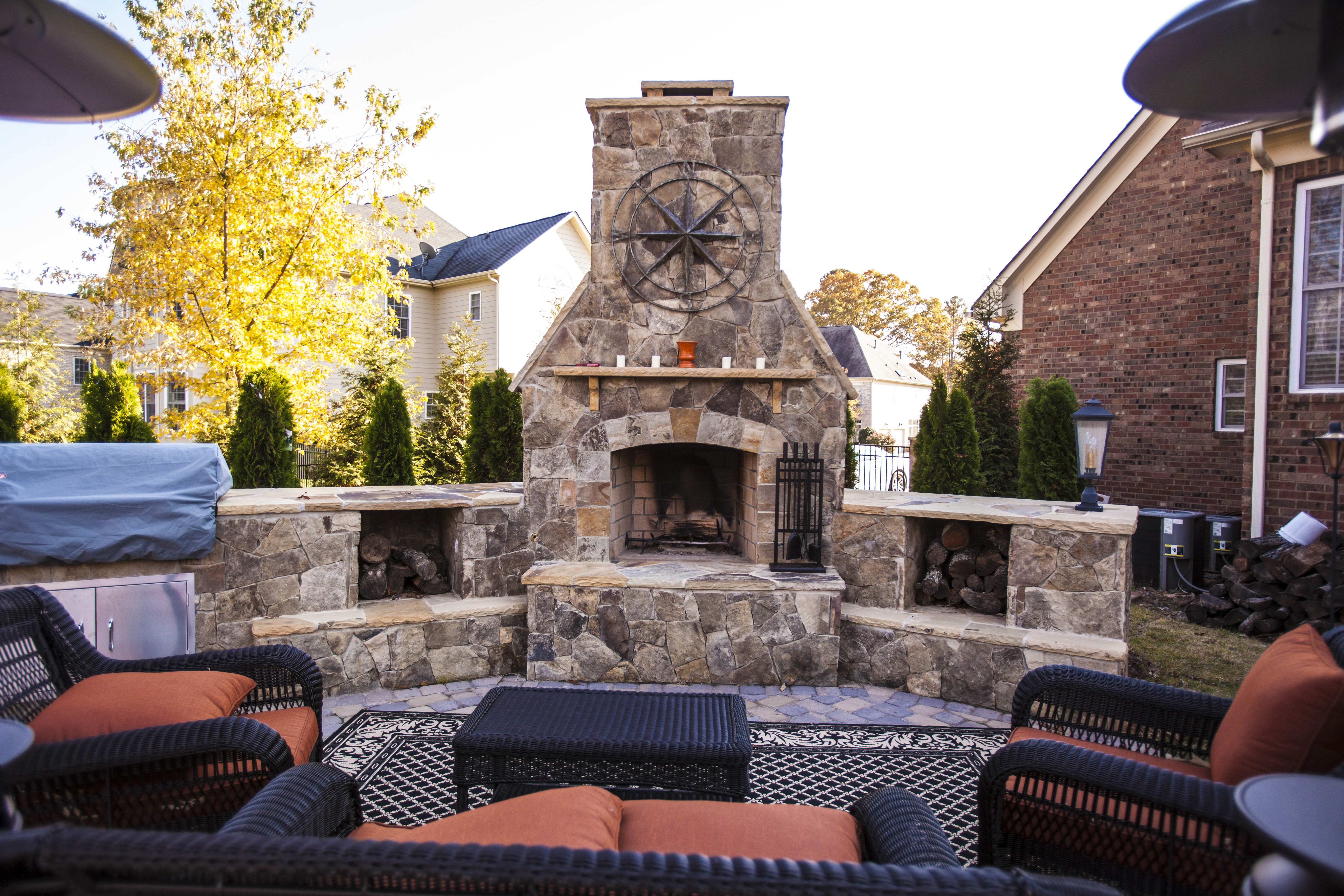 raleigh fire pits charlotte outdoor fireplaces greensboro