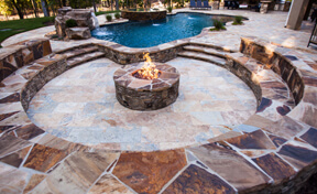 Outdoor Fireplaces & Fire Pits - outdoor living
