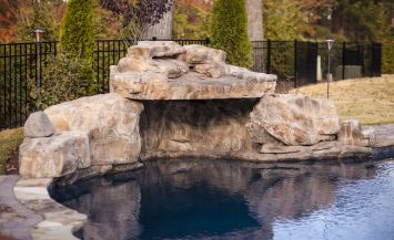 grottos - water features