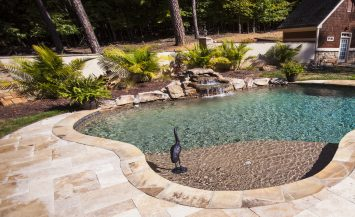 pool landscaping - outdoor living