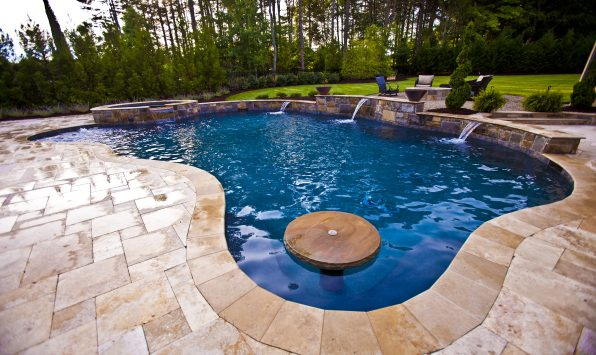 Charlotte Pool Renovation Raleigh Greensboro Pool Remodel - Backyard design charlotte